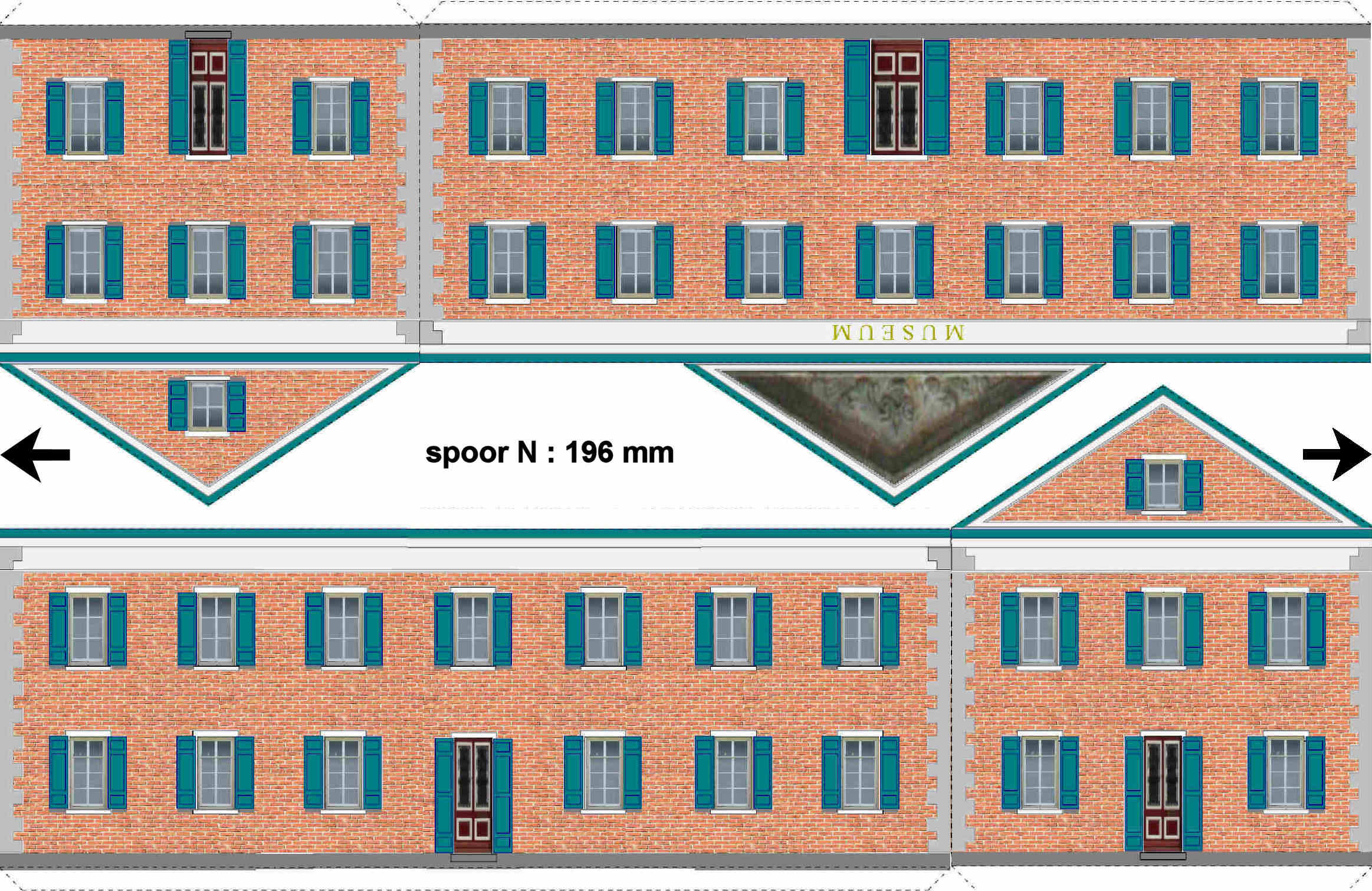Candid image within ho scale buildings free printable plans