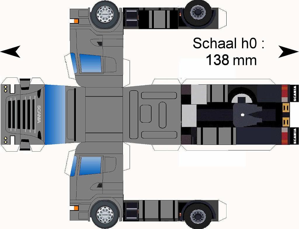 kleurplaten scania logo